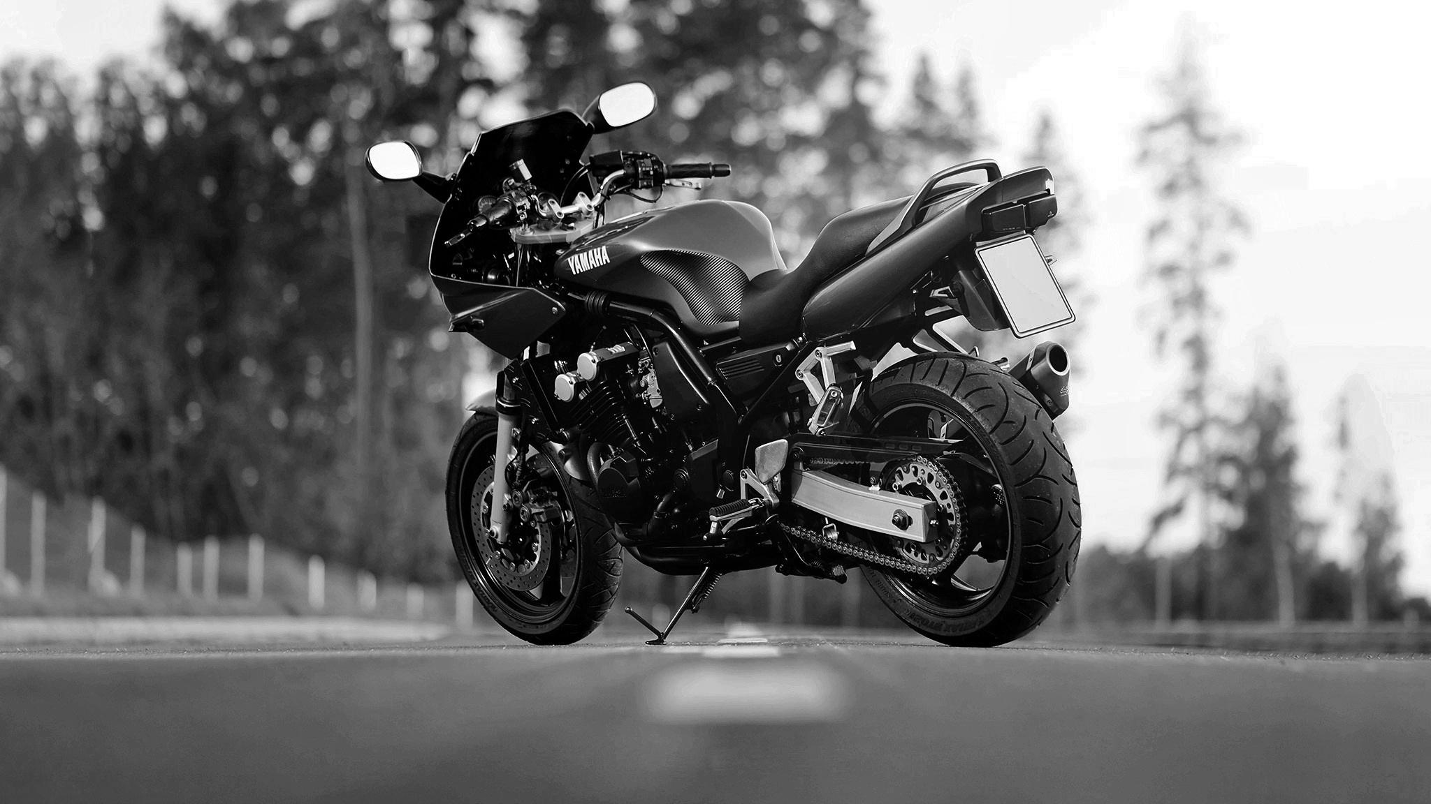 motorcycle Yamaha FZS600