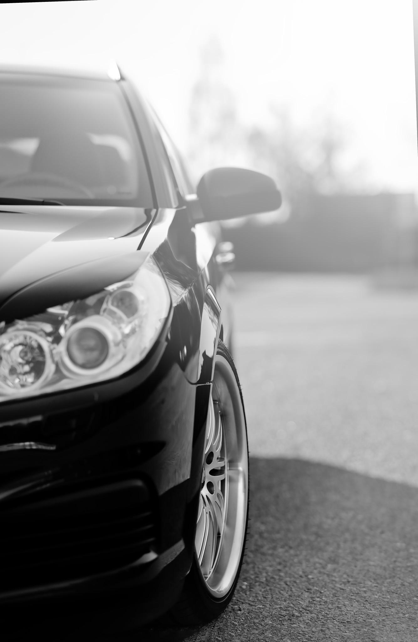 Opel Vectra Car bokeh