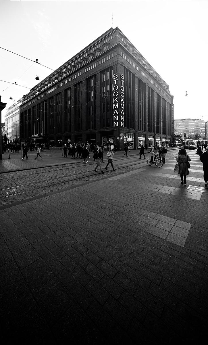 Stockmann deparment store Helsinki landmark
