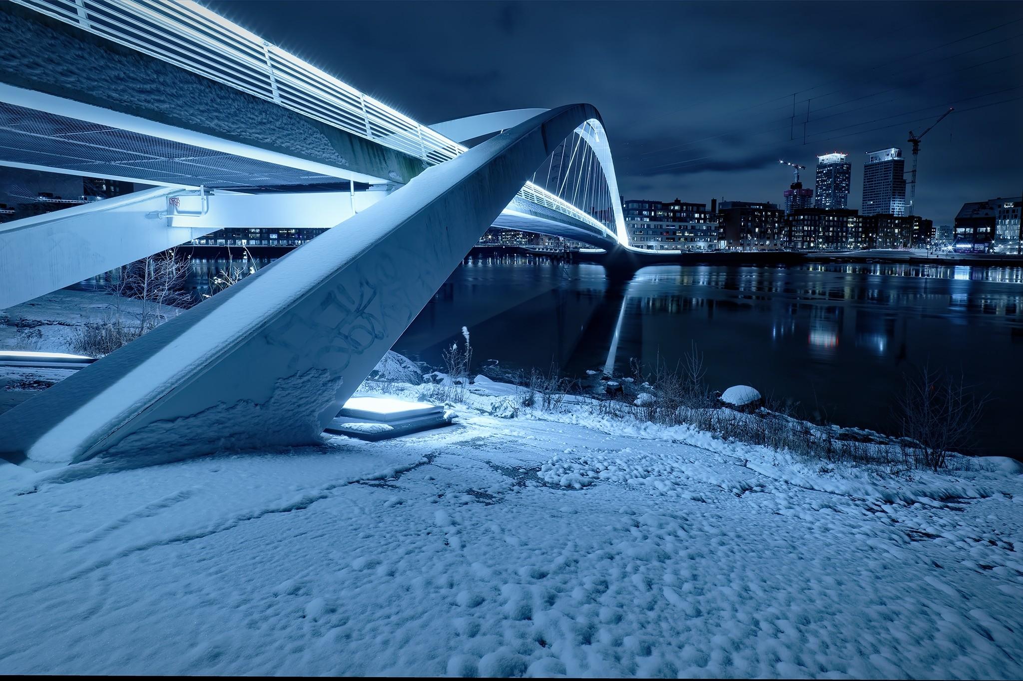Helsinki Finland Suomi isoisansilta bridge