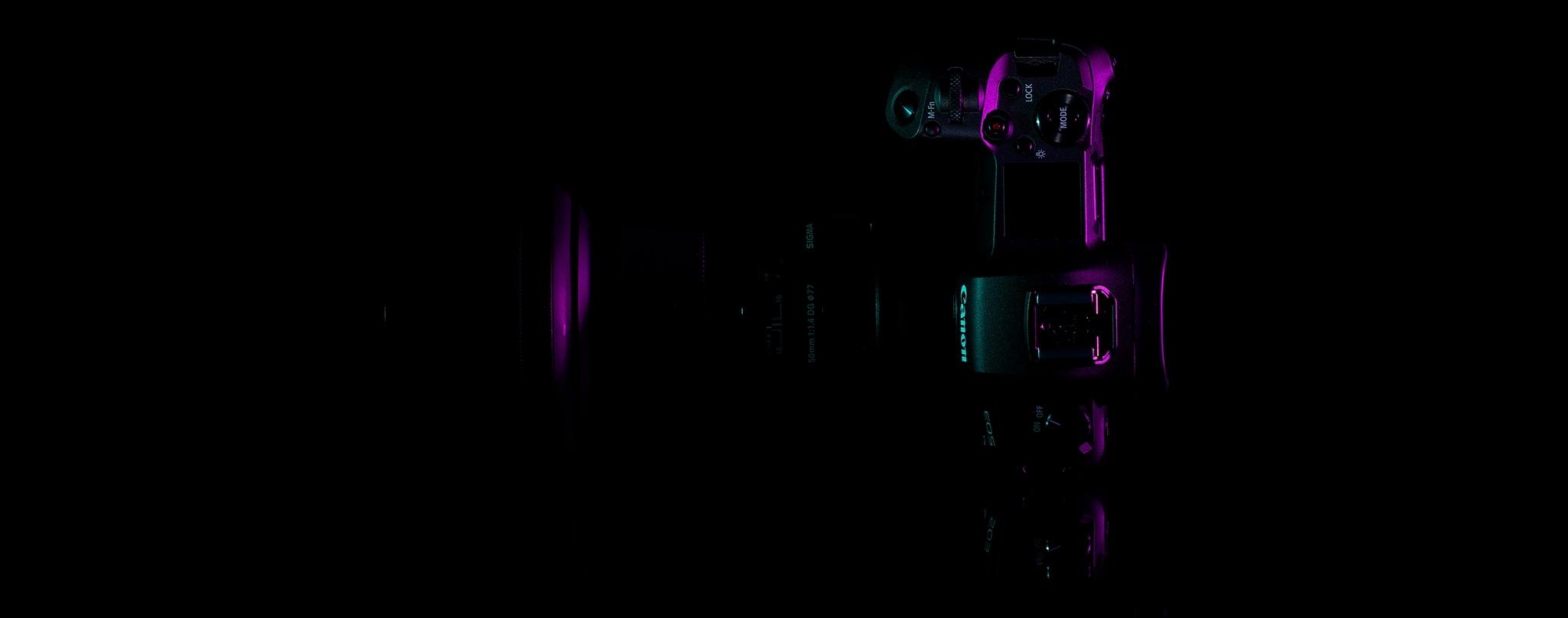 canon eos r fullframe camera