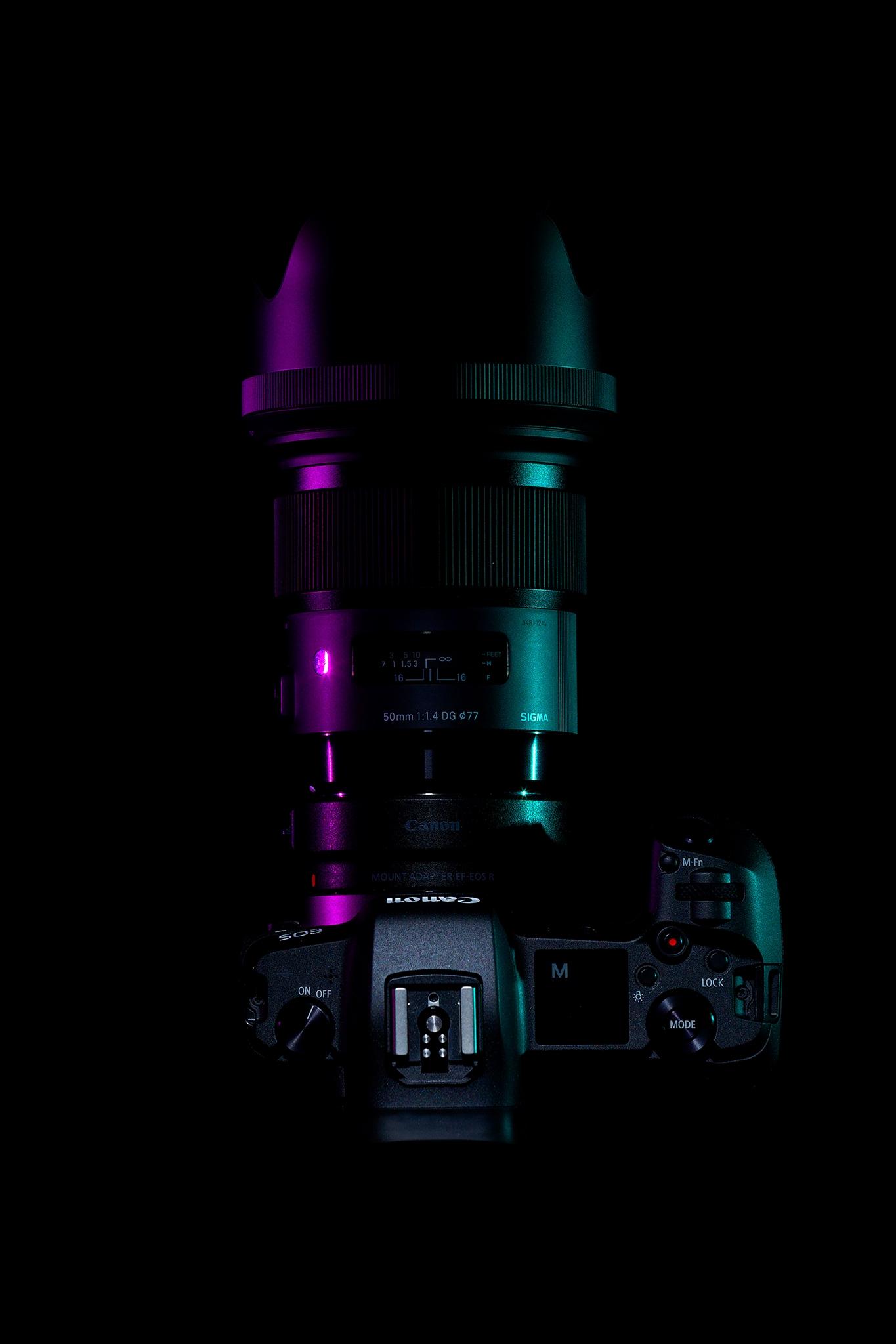 canon eos r eosr sigma sigma50art 500mm f1.4 camera kamera
