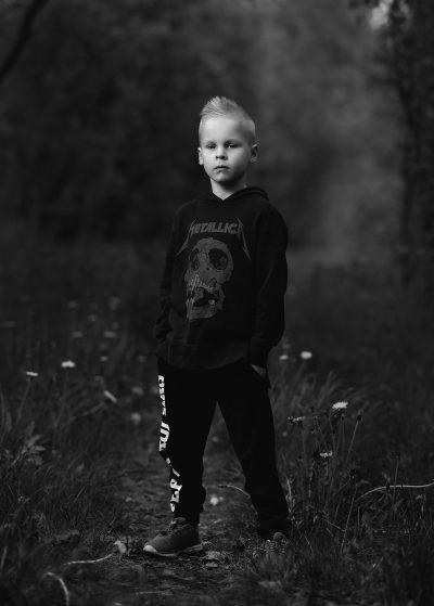 portrait boy bokeh muotokuva