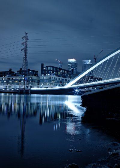 Helsinki Finland Suomi silta bridge Kalsatama